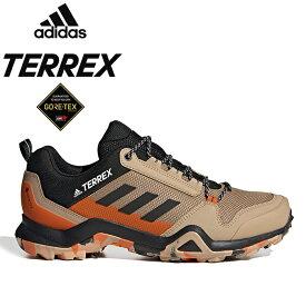 """adidas Performance アディダス パフォーマンス FV6851""""TERREX AX3 GTX""""テレックス GORE-TEX ゴアテックス ハイキング トレイル ランニング シューズ アウトドア スニーカー キックス メンズ レディース 防水 靴 ヘンプ/コアブラック 国内正規"""