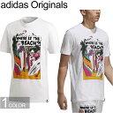"""adidas Originals アディダス オリジナルス CE2261""""BEACH TEE""""ビーチ Tシャツ トレフォイル 三つ葉 サーフィン サーフボード カットソー ストリート メンズ レディース ユニセックス 半袖 ホワイト 国内正規 30%OFF セール"""