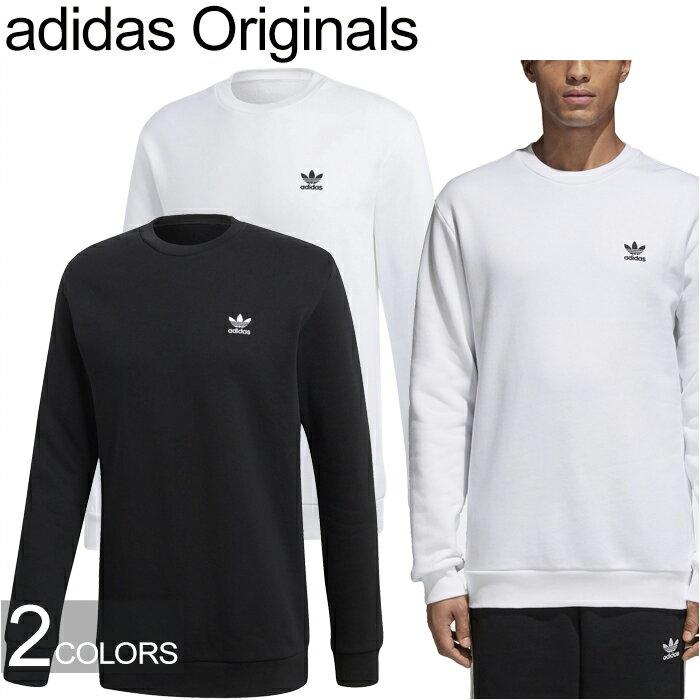 """adidas Originals アディダス オリジナルス""""STANDARD CREW""""スタンダード クルー ネック CW1232 CW1233 スウェット トレーナー トレフォイル 三つ葉 メンズ レディース トップス 2カラー 国内正規 10%OFF セール"""