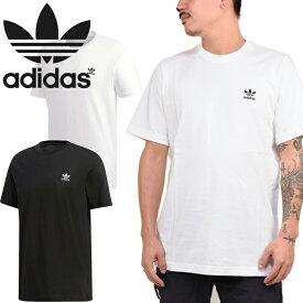 アディダス オリジナルス adidas Originals DV1577 DV1576 ESSENTIAL TEE エッセンシャル Tシャツ トレフォイル 三つ葉 刺繍 ストリート スポーツ メンズ レディース 半袖 2カラー 国内正規 30%OFF セール