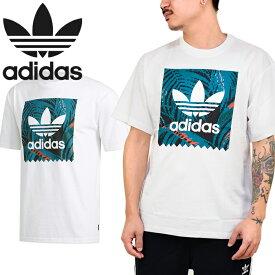 """adidas Originals アディダス オリジナルス EC7361""""BB PRINT TEE 2""""ブラックバード プリント Tシャツ トロピカル カットソー トレフォイル 三つ葉 ストリート メンズ レディース 半袖 ホワイト 国内正規 10%OFF セール"""