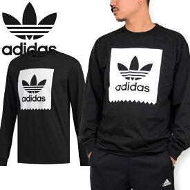 """adidas Originals アディダス オリジナルス EC7366""""LS BB TEE""""ロングスリーブ ブラックバード Tシャツ ロンT カットソー メンズ レディース 長袖 ブラック 国内正規 10%OFF セール"""
