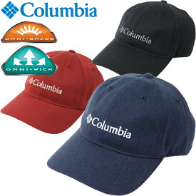 """Columbia コロンビア CU0043""""LODGE ADJUSTABLE BACK BALL CAP""""ロッジアジャスタブル バックボール キャップ オムニシェイド UPF50 オムニウィック ウールツイル アウトドア スポーツ メンズ レディース UVカット 帽子 3カラー 国内正規 20%OFF セール"""