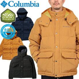 コロンビア Columbia PM3733 CIDER HILLES DOWN JACKET シダーヒルズ ダウン ジャケット OMNI-SHIELD オムニシールド ロクヨンクロス アウター メンズ レディース アウトドア 撥水 保温 3カラー 国内正規 40%OFF セール