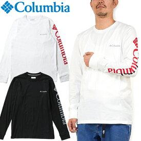 """Columbia コロンビア EE0076""""LODGE LS GRAPHIC TEE""""ロッジ ロングスリーブ グラフィック Tシャツ ロンT スリーブプリント スポーツ アウトドア トップス メンズ レディース 長袖 2カラー 国内正規 10%OFF セール"""