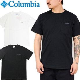 """Columbia コロンビア PM1895""""YONGE STREET SHORT SLEEVE CREW""""ヤング ストリート ショート スリーブ ポケット Tシャツ ポケT スポーツ アウトドア トップス メンズ レディース UVカット 半袖 2カラー 国内正規 20%OFF セール"""