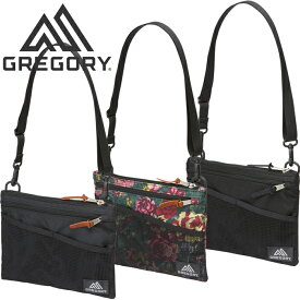 グレゴリー GREGORY CLASSIC SACOCHE M 2L クラシック サコッシュM ポーチ ポシェット ショルダーバッグ 耐久性 1094571041 1094580440 1094600511 ガーデンタペストリー 花柄 メンズ レディース アウトドア 鞄 3カラー 国内正規 10%OFF セール