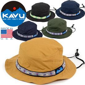 """KAVU カブー 11863452 19810115 123""""STRAP BUCKET HAT""""ストラップ バケット ハット ウエービングテープ コットン キャンバス キャンプ アウトドア メンズ レディース 日本別注 アメリカ製 帽子 5カラー 国内正規"""