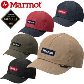 マーモット Marmot TOANJC33 GORE-TEX DENIM LINNER CAP ゴアテックス デニムライナーキャップ 防水 UVカット アウトドア メンズ レディース 帽子 5カラー 国内正規 10%OFF セール
