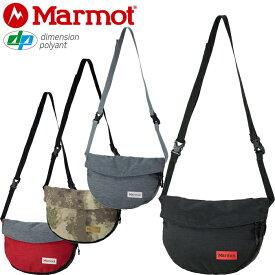 """Marmot マーモット TOAPJA02""""MARMOSET 1.5L""""マーモセット ショルダー バッグ X-PAC ポーチ サコッシュ ポシェット アウトドア メンズ レディース カモ 迷彩 撥水 軽量 鞄 4カラー 国内正規 10%OFF セール"""
