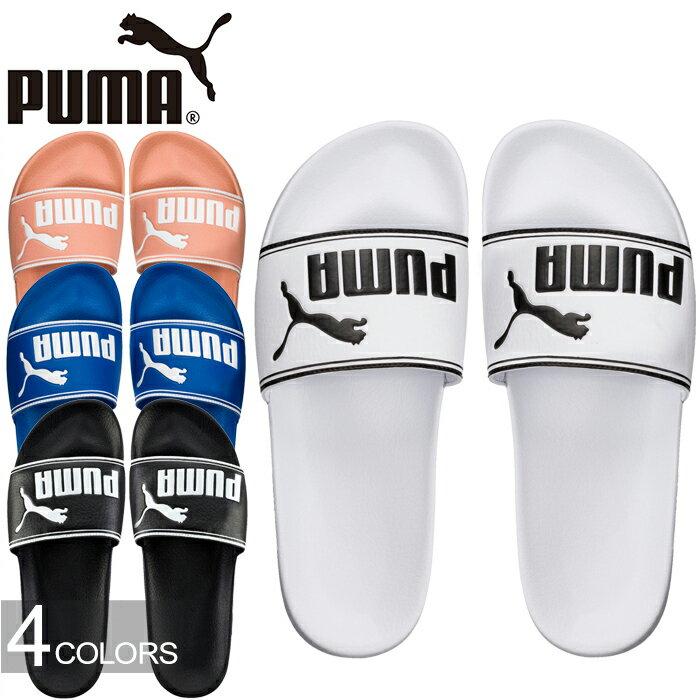 """PUMA プーマ 360263""""LEADCAT""""リードキャット スライド シャワー サンダル スポーツ メンズ レディース 靴 ツッカケ 4カラー 国内正規 30%OFF セール"""