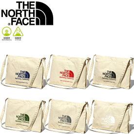 ノースフェイス THE NORTH FACE NM82041 MUSETTE BAG 10L ミュゼット バッグ サコッシュ オーガニックコットン ショルダー エコ ピクニック キャンプ フェス メンズ レディース アウトドア 手提げ 鞄 6カラー 国内正規 2021SS 9%OFF セール
