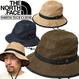 ノースフェイス THE NORTH FACE NN01815 HIKE HAT ハイク ハット 麦わら 帽子 サファリ UVケア ストロー アウトドア メンズ レディース ユニセックス 日焼け防止 折りたたみ 携帯 3カラー 国内正規 2021SS 10%OFF セール