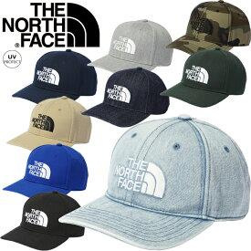 ノースフェイス THE NORTH FACE NN02135 TNF LOGO CAP TNF ロゴ キャップ ツイル デニム カモ カーブドバイザー ベースボール アウトドア メンズ レディース ユニセックス UVカット 迷彩 帽子 9カラー 国内正規 2021SS