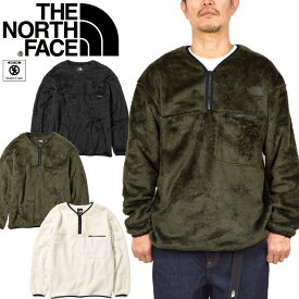 ノースフェイス THE NORTH FACE NA72061 VERSA LOFT HALF ZIP バーサロフト ハーフジップ ボア フリース Vネック プルオーバー トップス アウトドア メンズ レディース 防寒 保温 3カラー 国内正規 25%OFF セール