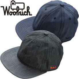 """WOOLRICH ウールリッチ NOCAP1941""""CANVAS DENIM CAP""""キャンバス デニム キャップ アウトドア メンズ レディース 帽子 2カラー 国内正規 20%OFF セール"""