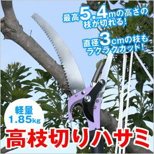 【送料無料】【代引不可】5メートルの高さまで届く 高枝切りハサミ TA-11【楽天最安値に挑戦】
