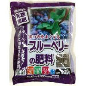 【同梱・代引き不可】 あかぎ園芸 ブルーベリーの肥料 500g 30袋 (4939091740075)