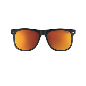 冒険王(Boken-Oh) サングラス アルゴスグレイ(クリップオン&眼鏡対応型) AG-1D マットブラック