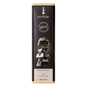 【同梱代引き不可】perlege(ペルレージュ) ステビア ミルクチョコ 42g×15個セット