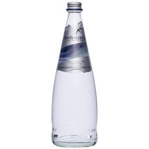 【同梱・代引き不可】 Sanbenedetto サンベネデット スパークリングウォーター グラスボトル 750ml×12本