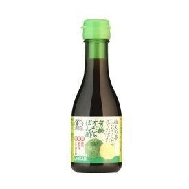 【同梱代引き不可】光食品 有機JAS認定 職人の夢 こんなぽん酢が造りたかった 有機すだちぽん酢 180ml×12本
