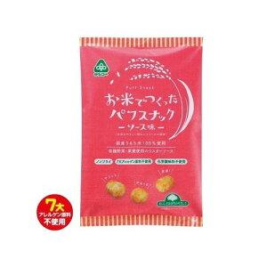 【同梱代引き不可】サンコー お米でつくったパフスナック ソース味 15袋