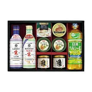 【同梱代引き不可】キッコーマン生しょうゆ&瓶詰・缶詰セット SC-50F