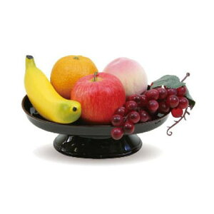 ニューホンコン造花 お供え 食品サンプル 果物5個セット 器付  149401