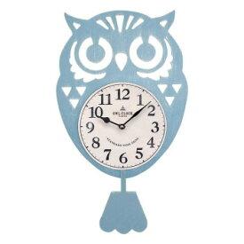 フクロウ振り子時計 BL 164630