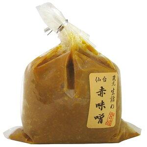【同梱・代引き不可】 仙台 赤味噌 500g 6個セット