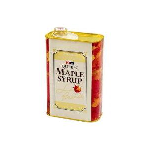 【同梱代引き不可】 ケベックメープルシロップ GradeAベリーダーク(ストロングテイスト) 1.2kg×12缶