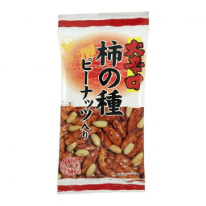 【同梱・代引き不可】 タクマ食品 大辛口柿の種ピーナッツ入 6×24個入