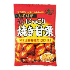 【同梱・代引き不可】 タクマ食品 にっこり焼き甘栗 20×2個入