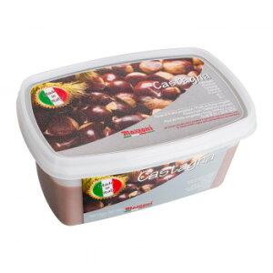 【同梱・代引き不可】 マッツォーニ 冷凍ピューレ 栗 1000g 6個セット 9402