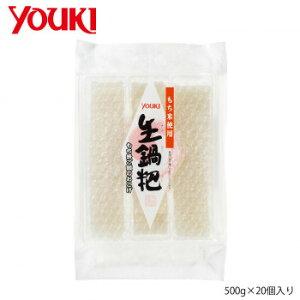 YOUKI ユウキ食品 生コーパー(もち米のおこげ) 500g×20個入り 218941