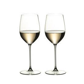 リーデル ヴェリタス ヴィオニエ/シャルドネ ワイングラス 6449/5 (370cc) 2脚箱入 669