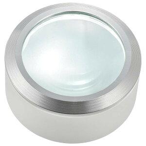 OHM L-ZOOM LEDデスクルーペ3 ホワイト・LH-M10DL-3W