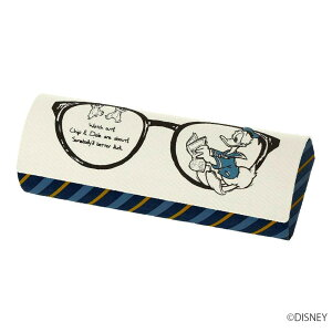 メガネケース ドナルド&チップ&デール クロス付 094030