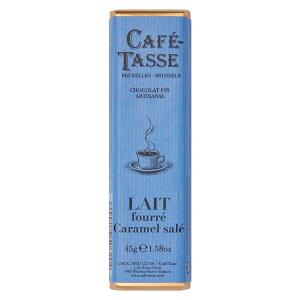 【同梱・代引き不可】 CAFE-TASSE(カフェタッセ) 塩キャラメルミルクチョコ 45g×15個セット