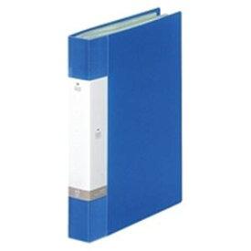 (業務用20セット) LIHITLAB クリアブック/クリアファイル リクエスト 【A4/タテ型】 固定式 60ポケット G3203-8 青