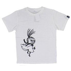 ムーミンTシャツ 踊るミイ ホワイトS
