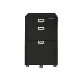 アイリスオーヤマ メタルキャビネット W400×D500×H625mm ブラック MCB-33K-BK 1台