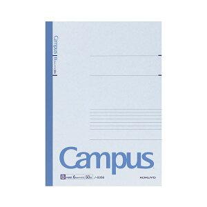 (まとめ) コクヨ キャンパスノート(中横罫) A4 B罫 50枚 ノ-205B 1セット(5冊) 【×3セット】