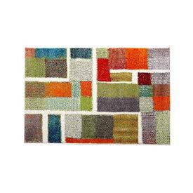 玄関マット トルコ製 ウィルトン織り 『エデン』 約50×80cm