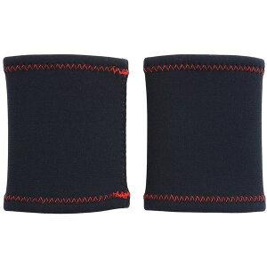 HEALTH POINT (ヘルスポイント)極暖ランニングリストウォーマー(2枚組) ブラック Fサイズ 1810RZ
