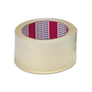 (まとめ) ニットー 透明梱包用テープ カッターなし 【×10セット】