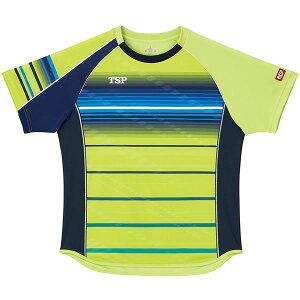 VICTAS TSP 卓球アパレル ゲームシャツ クラールシャツ 男女兼用 031428 ライム 3XL