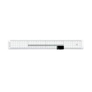 (まとめ)ライオン事務器セクションカッター&スケール SE-400 1個【×2セット】