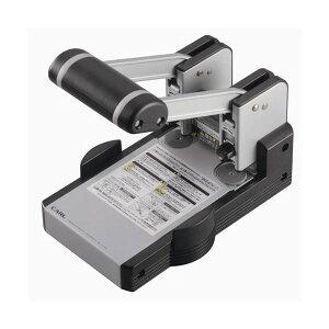 (まとめ)カール事務器 2穴 強力パンチ 110枚穿孔 HD-410N 1台【×3セット】